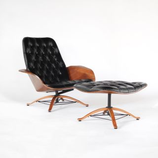 Mid Century Modern Early Mr Chair Lounge Chair