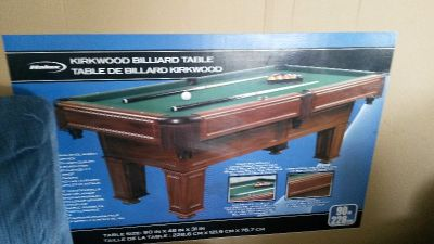 Halex Kirkwood Pool Table