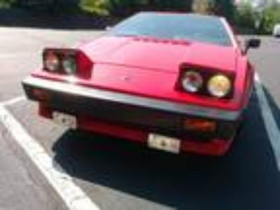 1984 Lotus Esprit Turbo Calypso Red