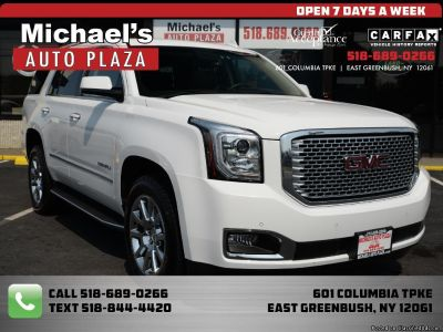 2015 GMC Yukon Denali 4WD w/Remote Starter, Navigation, Heated Seats, Heated Steering, Satellite Radio, Backup Camera and MUCH MORE! We finance, Trades Welcome! Stock#11944