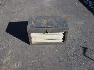 "22 ""MASTER MECHANICS TOOL BOX"