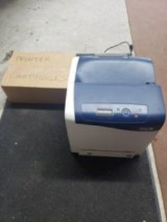 Printer with box of cartridges lightly used printer cartridges never opened