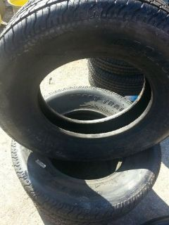 Purchase FOUR ST225/75D15 Carlisle 6 ply Bias T/L Camper, Trailer Tires Load Range C motorcycle in Dyersburg, Tennessee, United States, for US $130.00