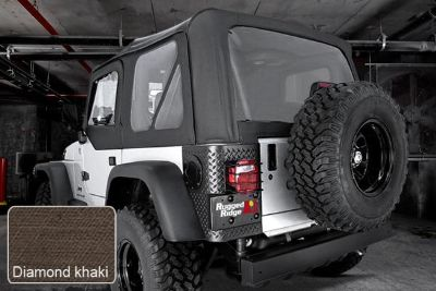 Purchase Rugged Ridge 13727.36 - Jeep Wrangler XHD Soft Top w Door Skins, w Clear Windows motorcycle in Suwanee, Georgia, US, for US $454.19