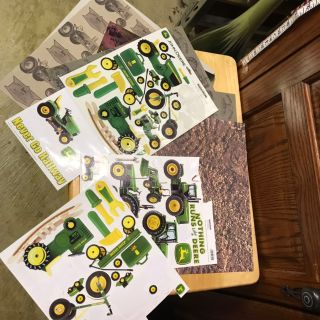 Scrapbooking John Deer Lot