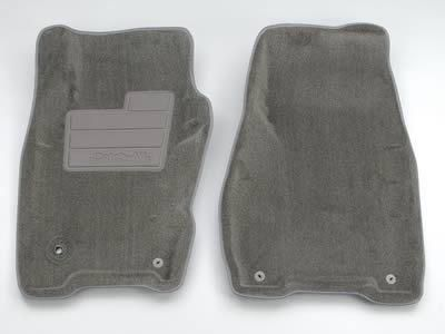 Purchase Nifty Catch-All Floor Protectors Mats 604234 Front Charcoal Wrangler motorcycle in Tallmadge, Ohio, US, for US $85.97
