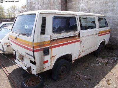 1987 VW Vanagon Syncro for parts