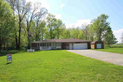 6888 W 30th Street West Terre Haute Two BR, Country living