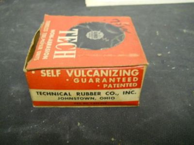 """Sell Vintage Box of 9 TECH Large No. OT Patches, Max Injury 1/2"""", Cat. No. 303 (NOS) motorcycle in Springfield, Vermont, United States, for US $24.99"""