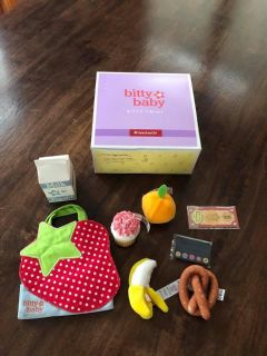 Brand New Never Used Bitty Baby Groceries Set