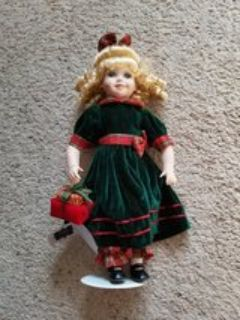 "12"" Megan Christmas Doll"