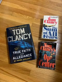 Tom Clancy Book Lot