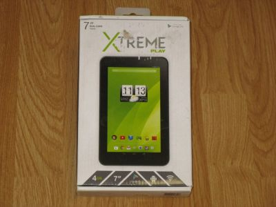 "Xtreme Play 7"" Tablet Dual Core 4GB Google Android 4.4 Touchscreen Wifi NEW"