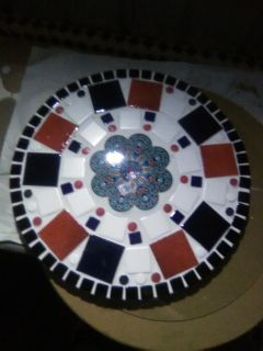 Fourth of July 20 inch table
