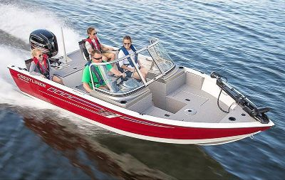 2018 Crestliner 1700 Vision Jon Boats Kaukauna, WI