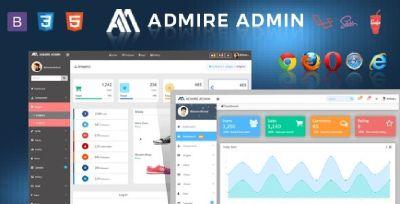 Bootstrap Laravel Admin Template – Admire