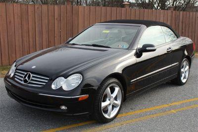 2005 Mercedes-Benz CLK-Class CLK320 (black)