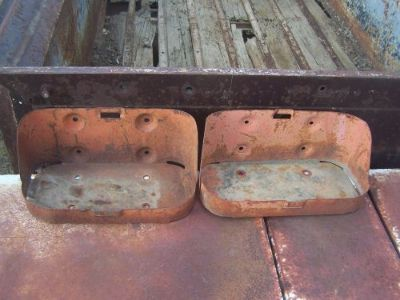 Sell Pair Willys MB, M38s,Ford GPW,other WW2 & Postwar Jeep & Truck Jerry Can Holder motorcycle in Whitewater, Colorado, United States