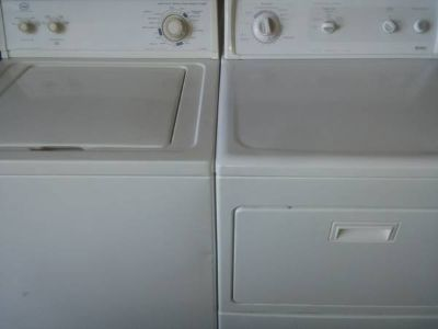 Roper Washer + Kenmore Dryer