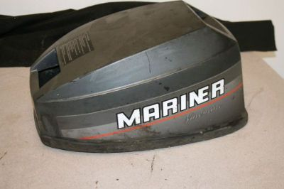 Sell GOOD USED 9.8 HP MARINER OUTBOARD COWLING HOOD motorcycle in Scottsville, Kentucky, United States, for US $29.00