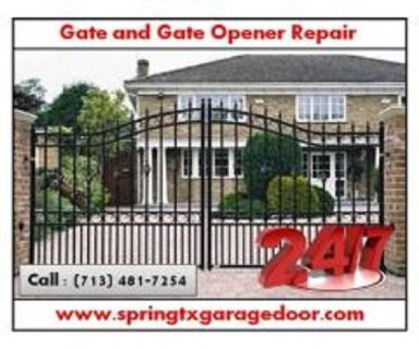 Best Possible Service for Automatic Gate Opener Repairs ($25.95) Spring Houston, 77379 TX