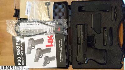 For Sale: HK P30sk V3 night sights