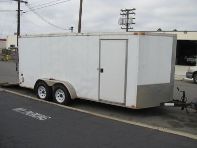 2011 ENCLOSED CARGO TRAILER
