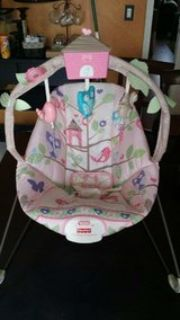 Girl baby bouncer