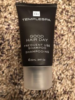Templespa Good Hair Day Frequent Use Shampoo Mini. Brand New, Never Opened