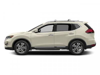 2018 Nissan Rogue S (Pearl White)