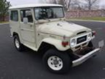 1983 Toyota Land Cruiser FJ-40 Original Condition