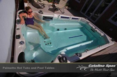 The enhanced experience with Catalina Swim Spa