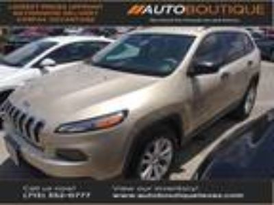 used 2015 Jeep Cherokee for sale.