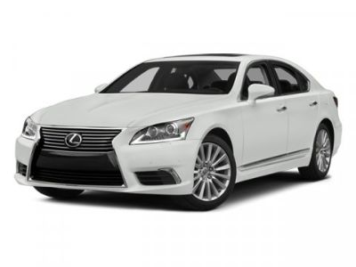 2013 Lexus LS 460 Base (White)