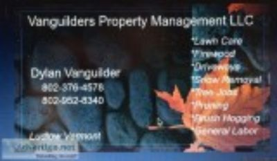 Vanguilders property management LLC