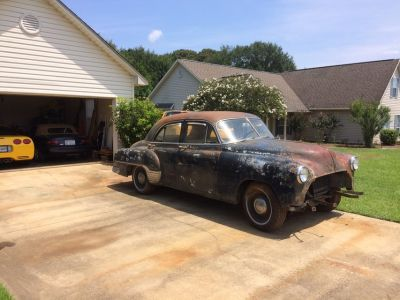 1952 Chevrolet Deluxe project car