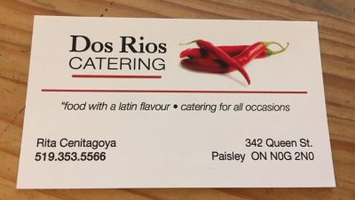 DOS RIOS CATERING AND PIZZA