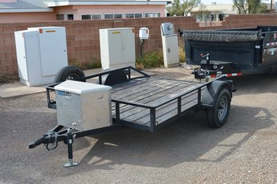 """83"""" Wide Motorcycle Trailer"""