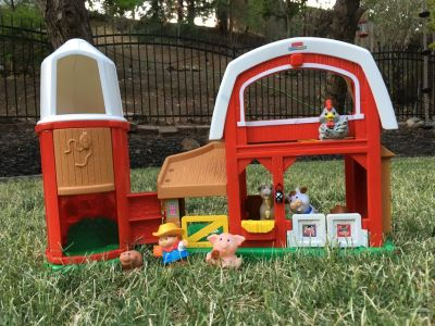 Fisher Price Little People Animal Friends Barn