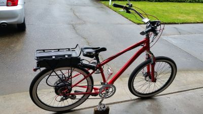 Gas or Electric powered Bicycles