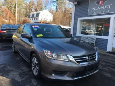 2015 Honda ACCORD SEDAN 4dr I4 CVT LX (Gray)