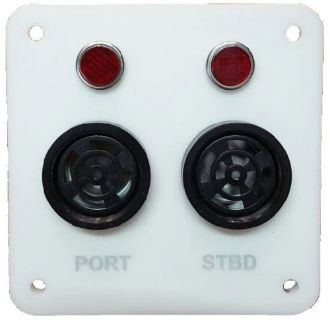 Sell Sail drive Alarm Panel with 2 Piezo Buzzers & Warning Lights for Catamarans motorcycle in Torrance, California, United States, for US $120.00