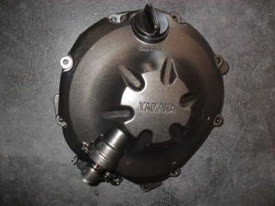 Purchase 08 09 10 11 12 YAMAHA R6R YZFR6 R CLUTCH COVER ENGINE MOTOR OEM NICE SHAPE motorcycle in Norton, Massachusetts, US, for US $19.99