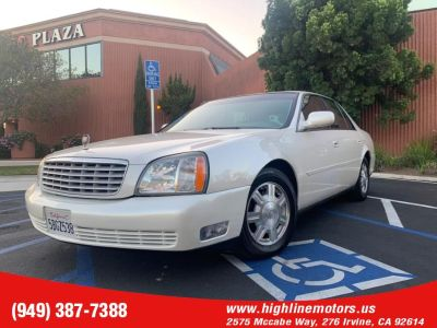2003 Cadillac DeVille Base (Cotillion White)