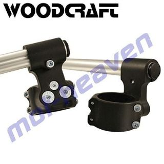 """Find Woodcraft Race 2"""" Riser Clip-on Handle Bars 53mm handlebar motorcycle in Sugar Grove, Pennsylvania, United States, for US $170.99"""