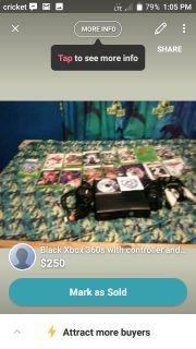 Xbox 360 s games and controllers