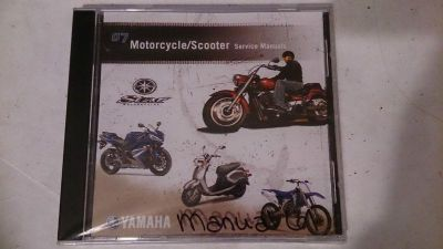 Sell 07 Yamaha Motorcycle Scooter PC Disc Service Manual *NEW* motorcycle in Richlandtown, Pennsylvania, US, for US $19.99