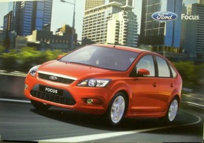 Sell 2009 Ford Focus Australian Market Right Hand Drive Dealer Sales Brochure motorcycle in Holts Summit, Missouri, United States, for US $17.09