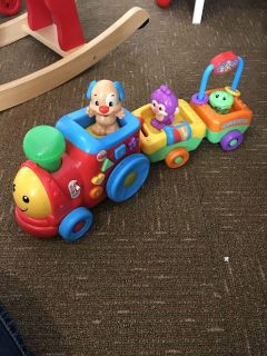 Fisher Price Learning Train